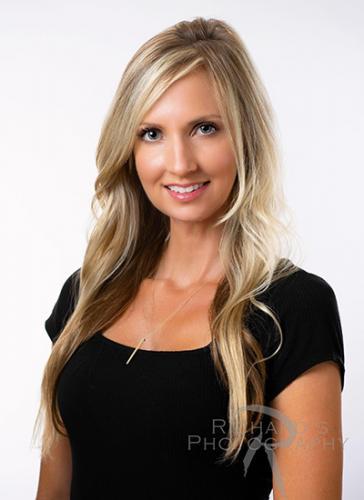 womens professional headshot real estate san antonio